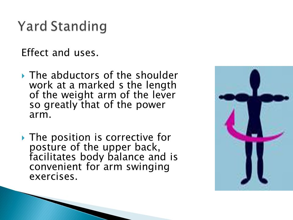 Yard Standing Effect and uses.