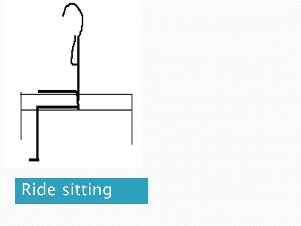 Ride sitting