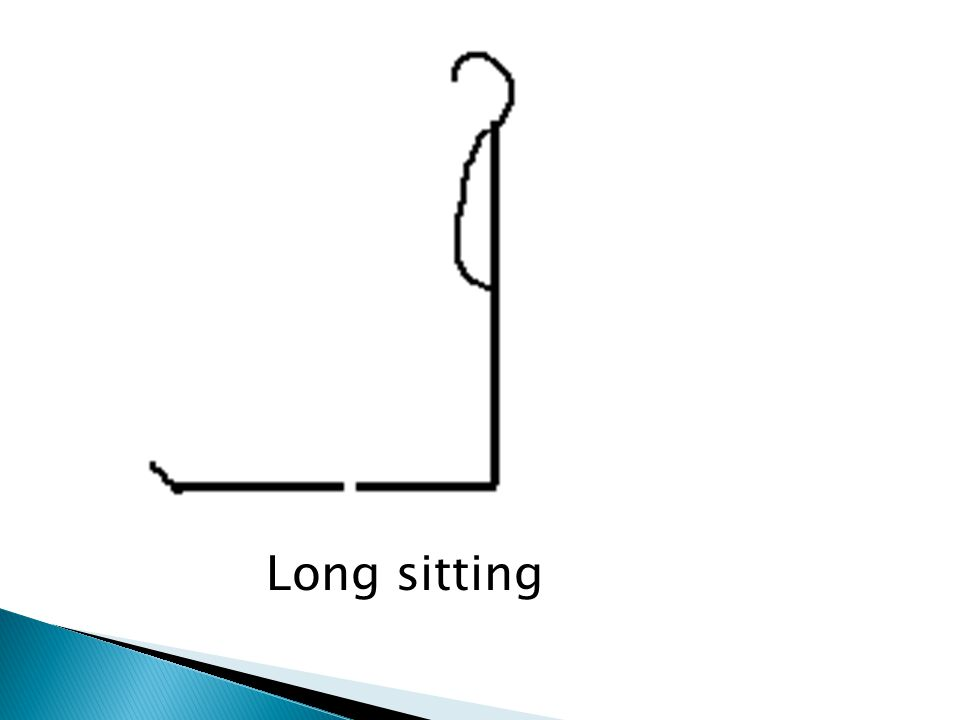 Long sitting