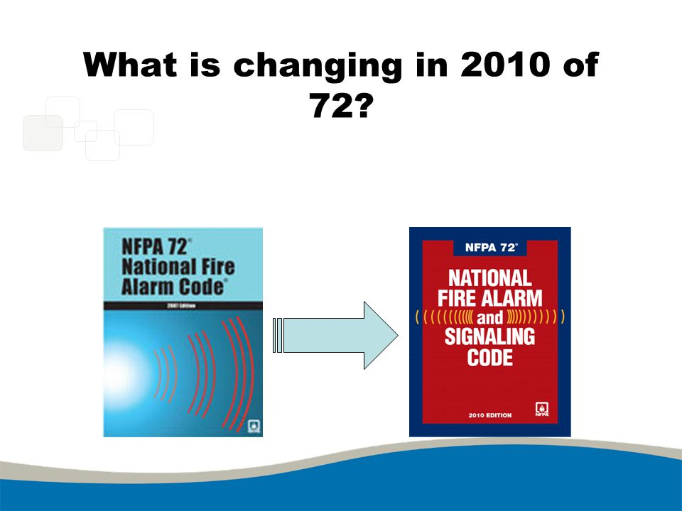 What is changing in 2010 of 72