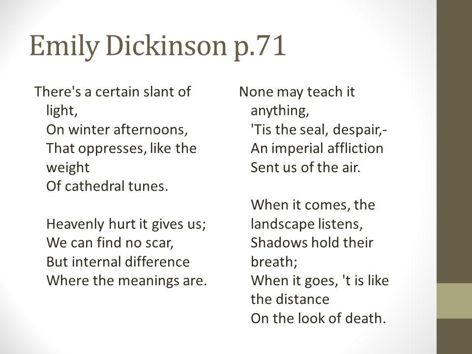 Emily Dickinson p.71