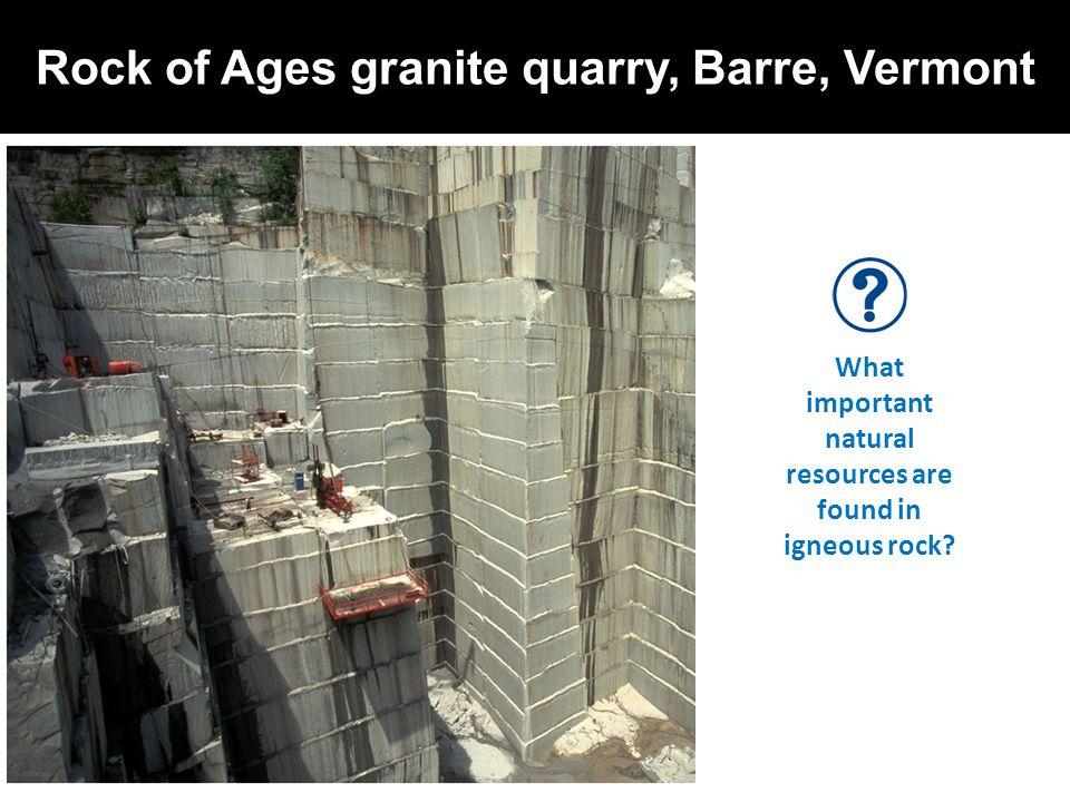 Rock of Ages granite quarry, Barre, Vermont