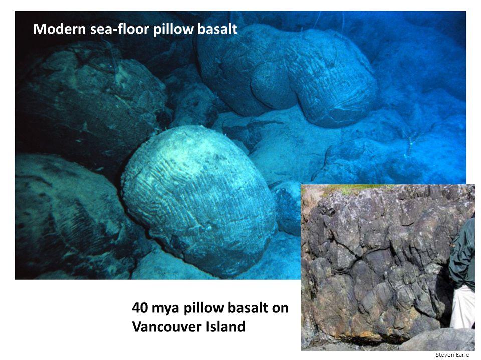 Modern sea-floor pillow basalt
