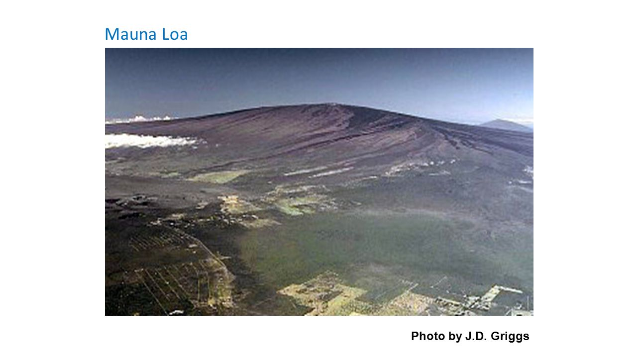 Mauna Loa Photo by J.D. Griggs