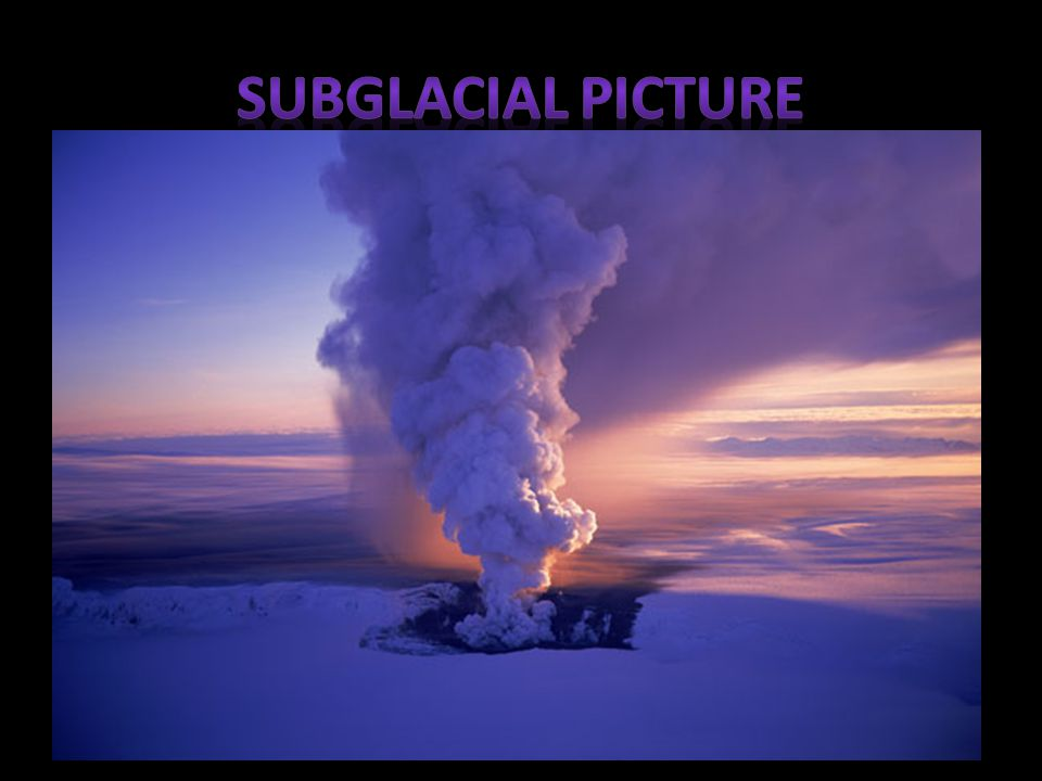 Subglacial Picture