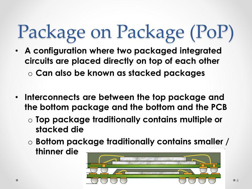 Package on Package (PoP)