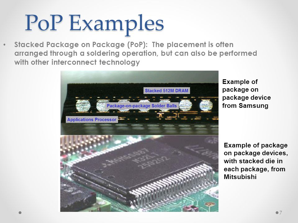 PoP Examples