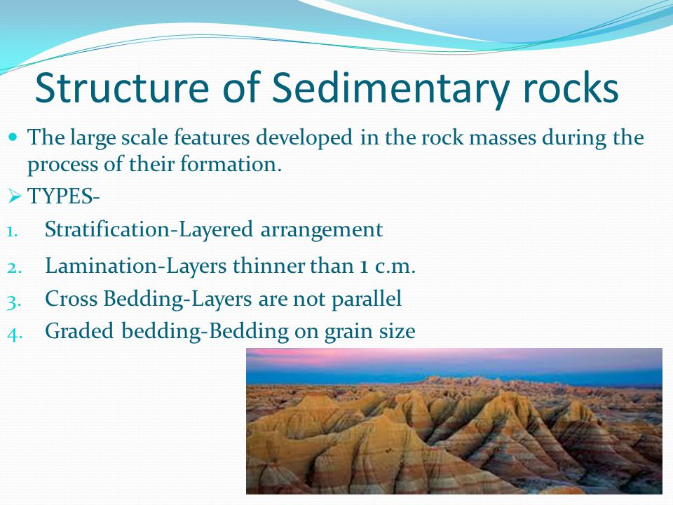 Structure of Sedimentary rocks