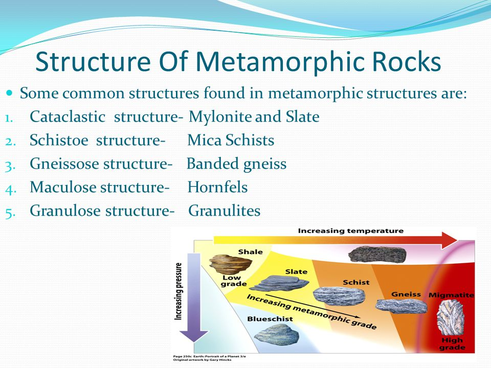 texture of metamorphic rocks pdf
