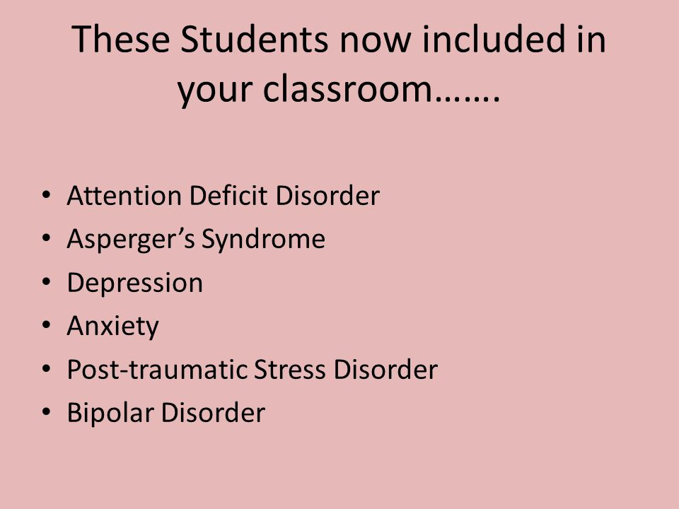These Students now included in your classroom…….