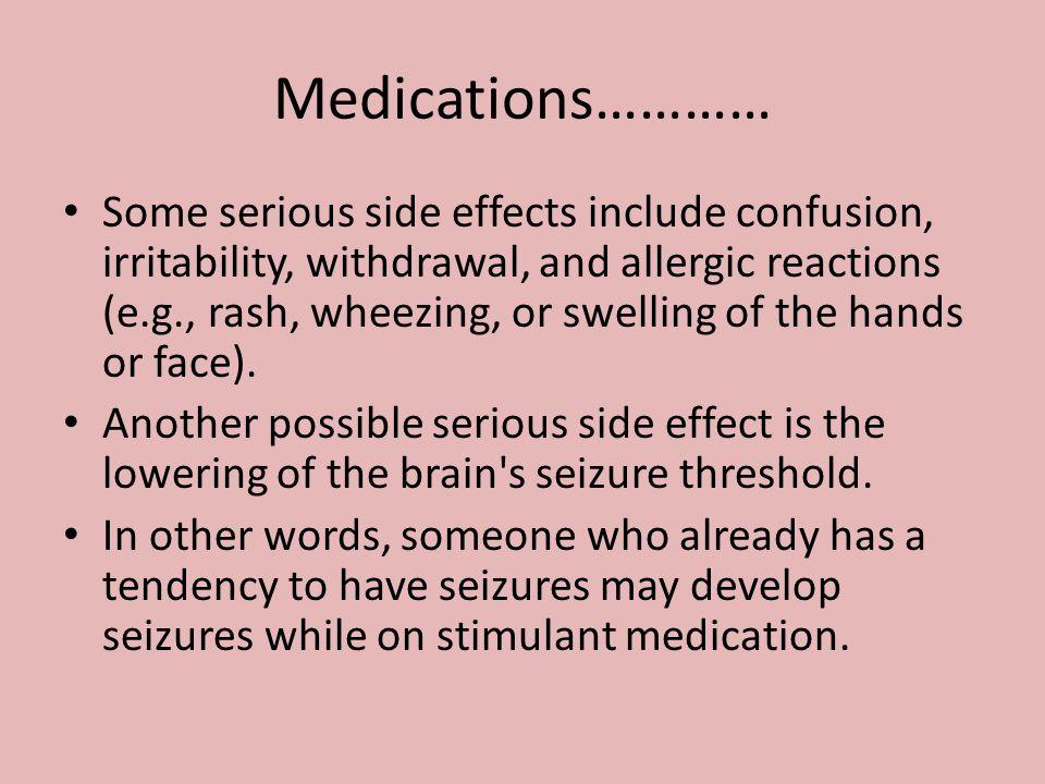 Medications…………