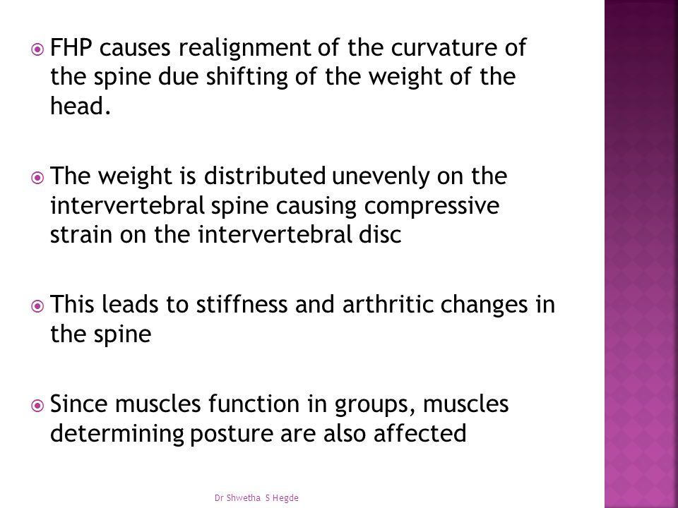 This leads to stiffness and arthritic changes in the spine