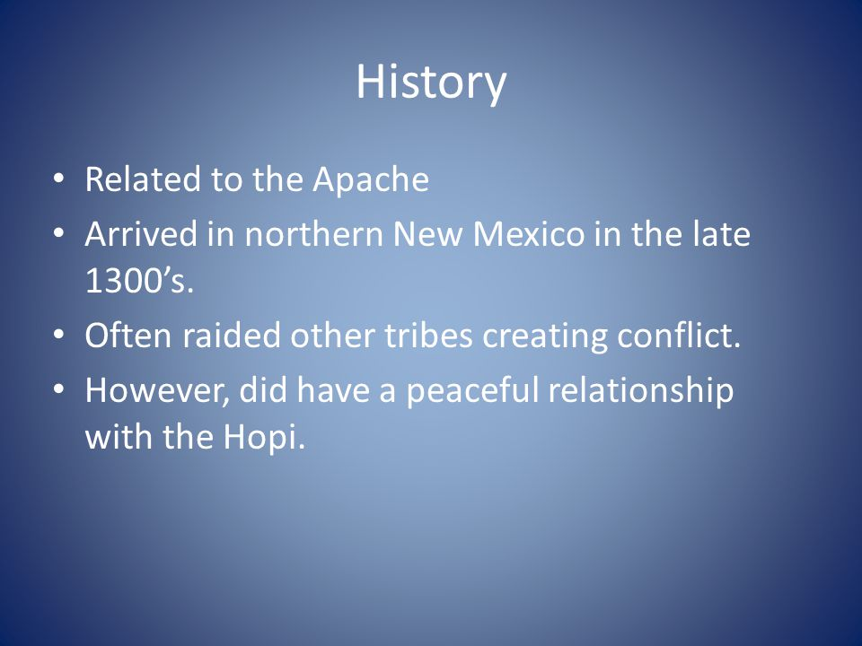 History Related to the Apache