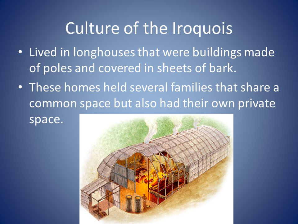 Culture of the Iroquois
