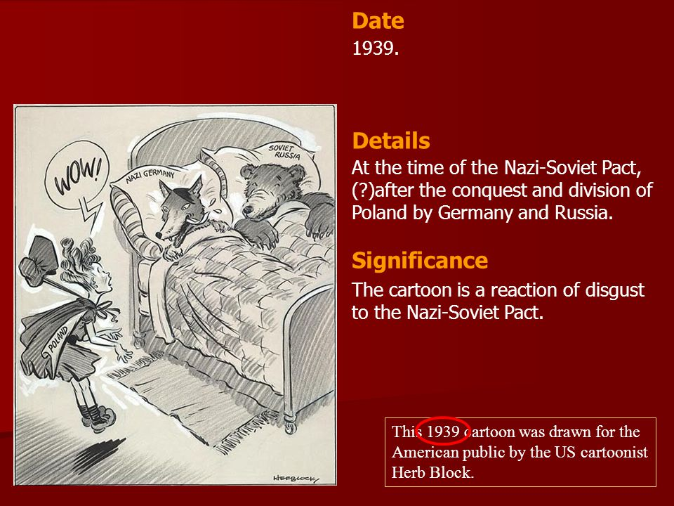 Date Details Significance 1939.
