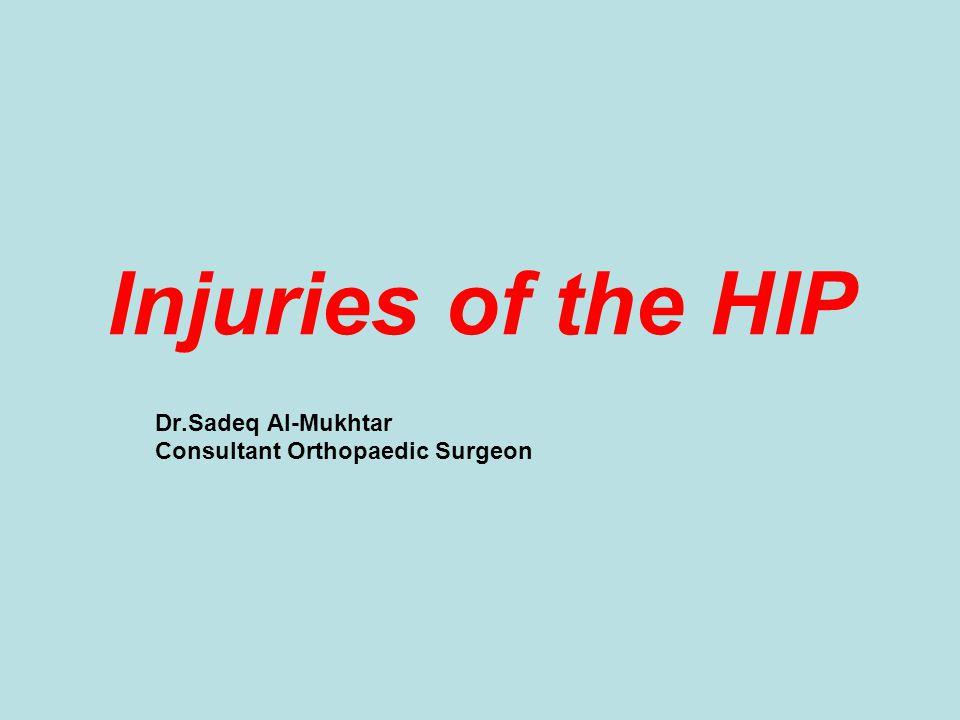 Dr.Sadeq Al-Mukhtar Consultant Orthopaedic Surgeon