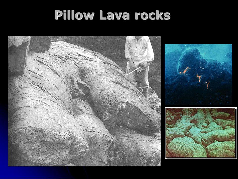 Pillow Lava rocks