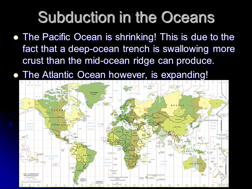 Subduction in the Oceans