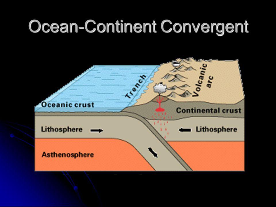 Ocean-Continent Convergent