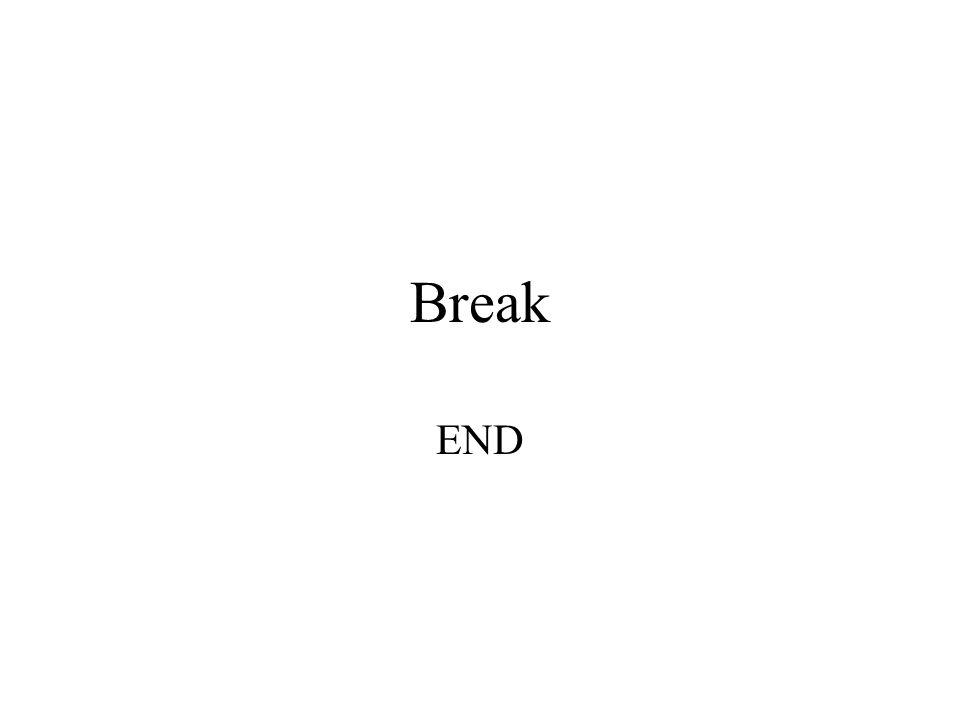 Break END