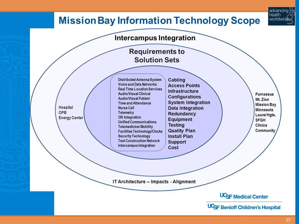 Mission Bay Information Technology Scope