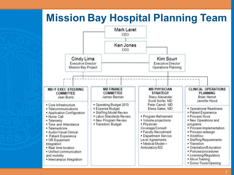 MB IT EXEC STEERING COMMITTEE CLINICAL OPERATIONS PLANNING