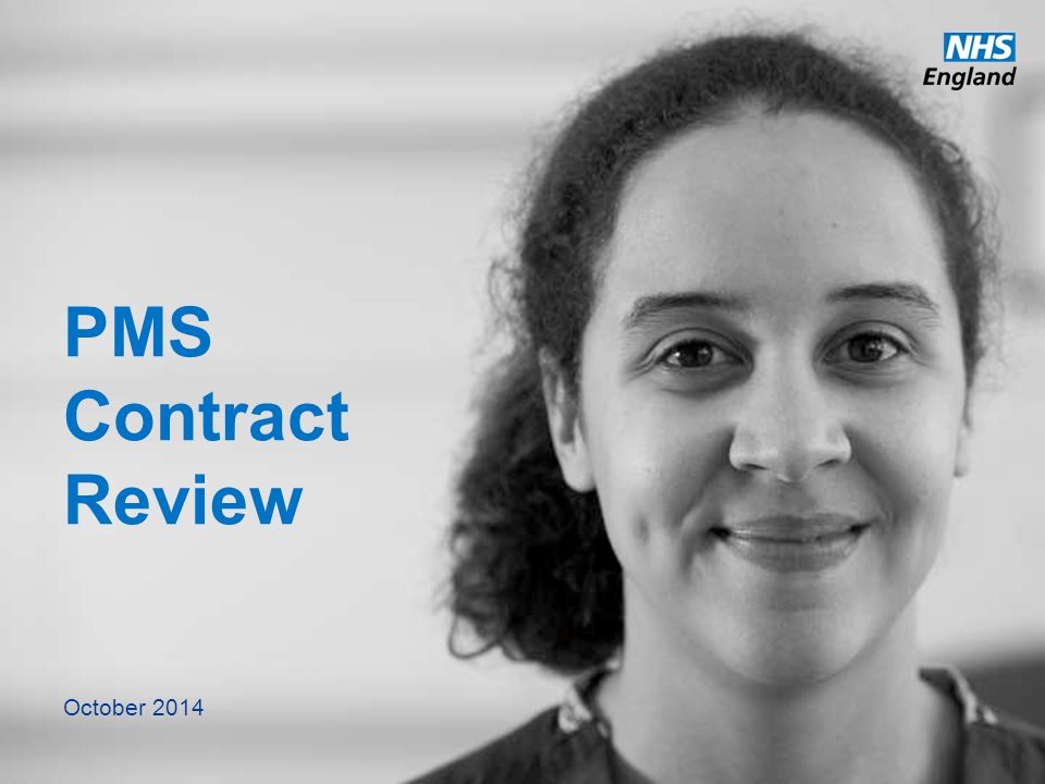 PMS Contract Review October 2014