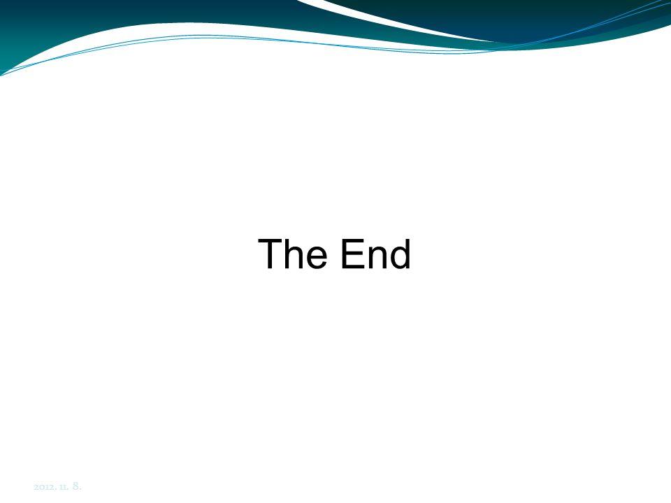 2012. 11. 8. The End. Final project: http://cg.iit.bme.hu/gamedev/KIC/06_GUI/06_01_Ogre3D_Overlays_Final.zip.