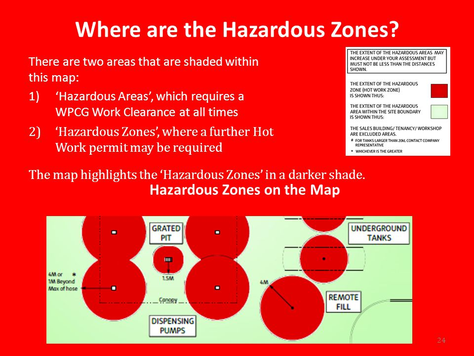Where are the Hazardous Zones