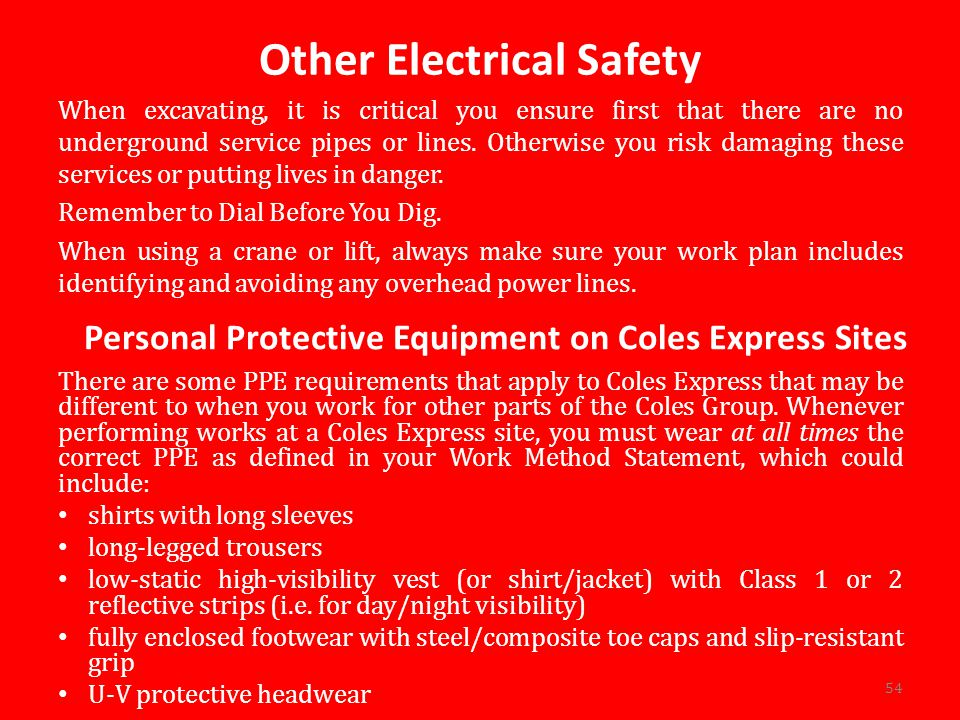 Other Electrical Safety
