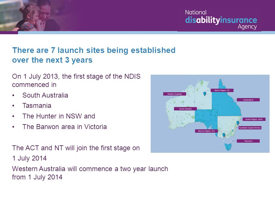 There are 7 launch sites being established over the next 3 years