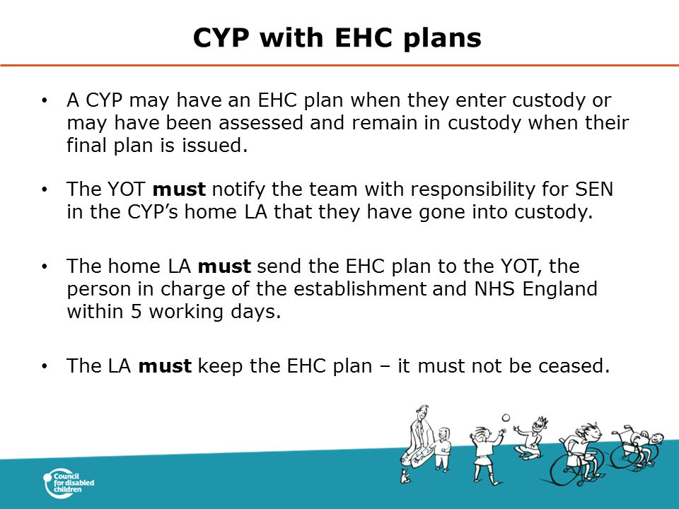 CYP with EHC plans