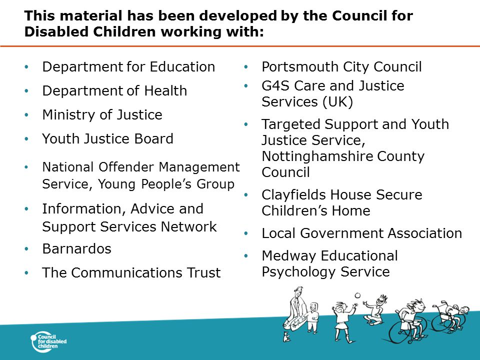 Department for Education Portsmouth City Council Department of Health