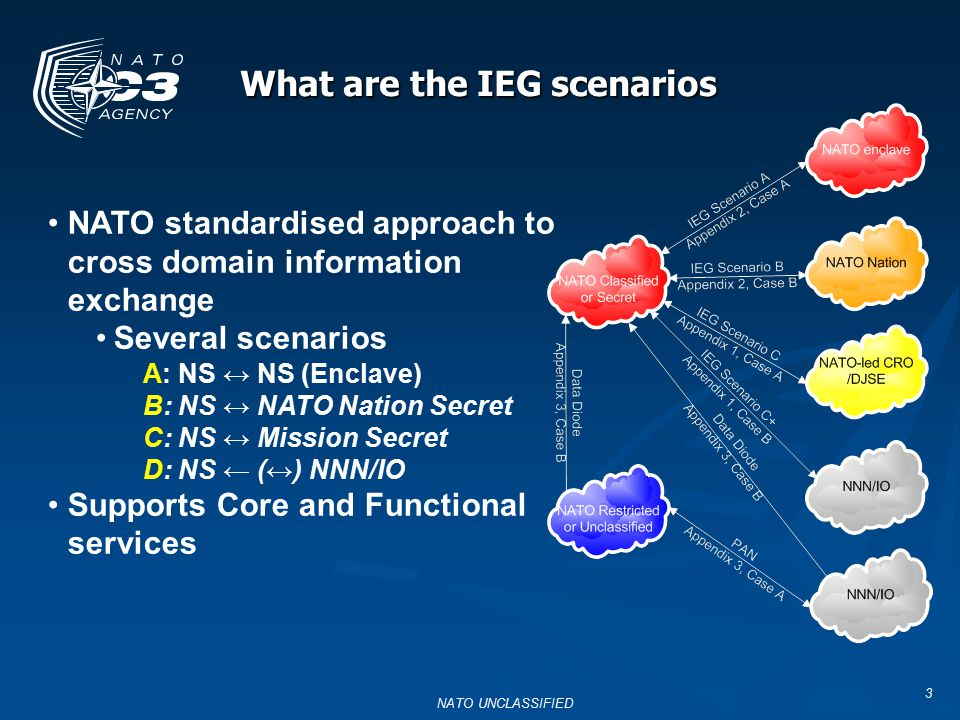 What are the IEG scenarios