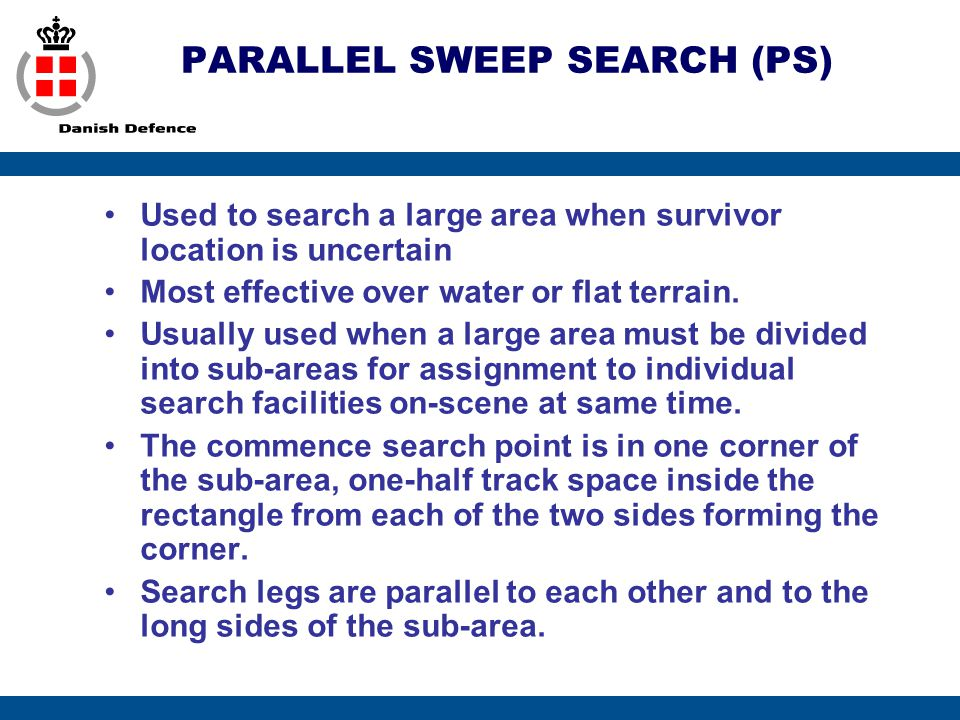 PARALLEL SWEEP SEARCH (PS)