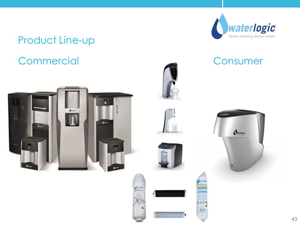 Product Line-up Commercial Consumer