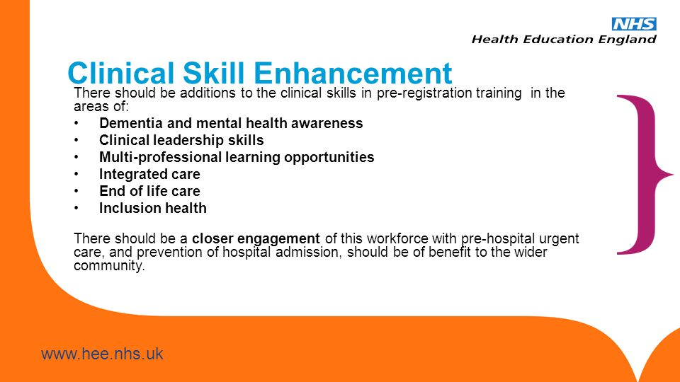 Clinical Skill Enhancement
