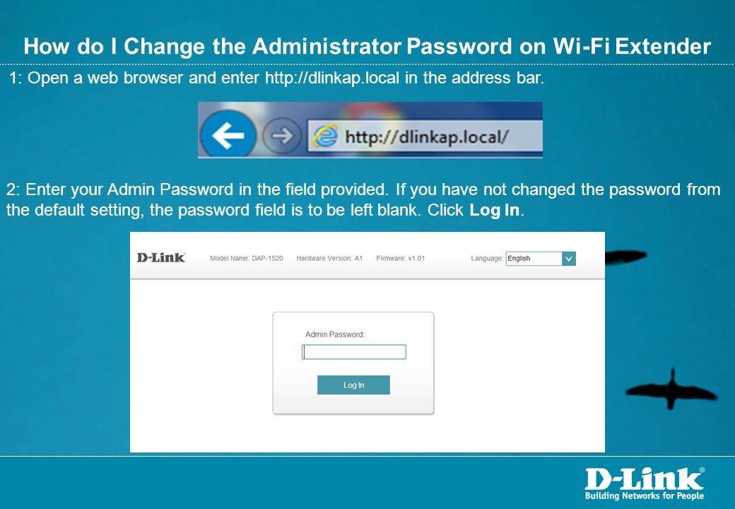 How do I Change the Administrator Password on Wi-Fi Extender