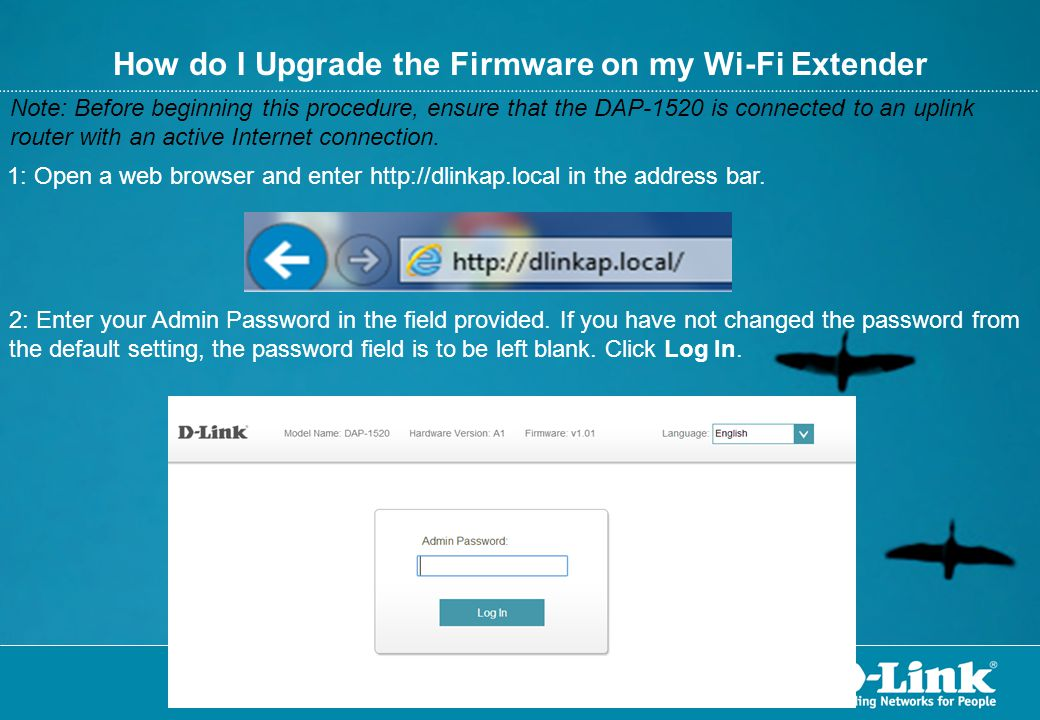How do I Upgrade the Firmware on my Wi-Fi Extender