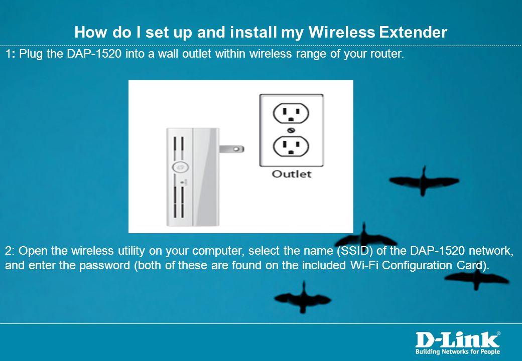 How do I set up and install my Wireless Extender
