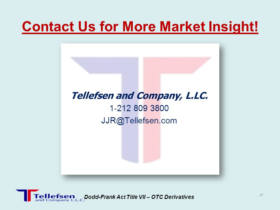 Contact Us for More Market Insight!