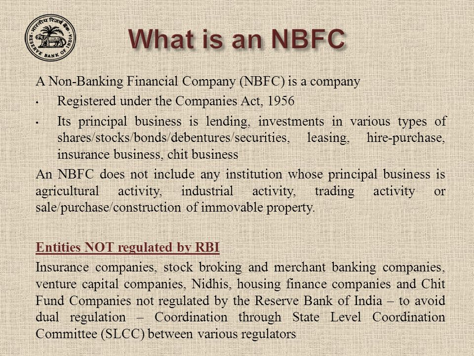 Expectations from auditors of nbfcs for Construction types for insurance