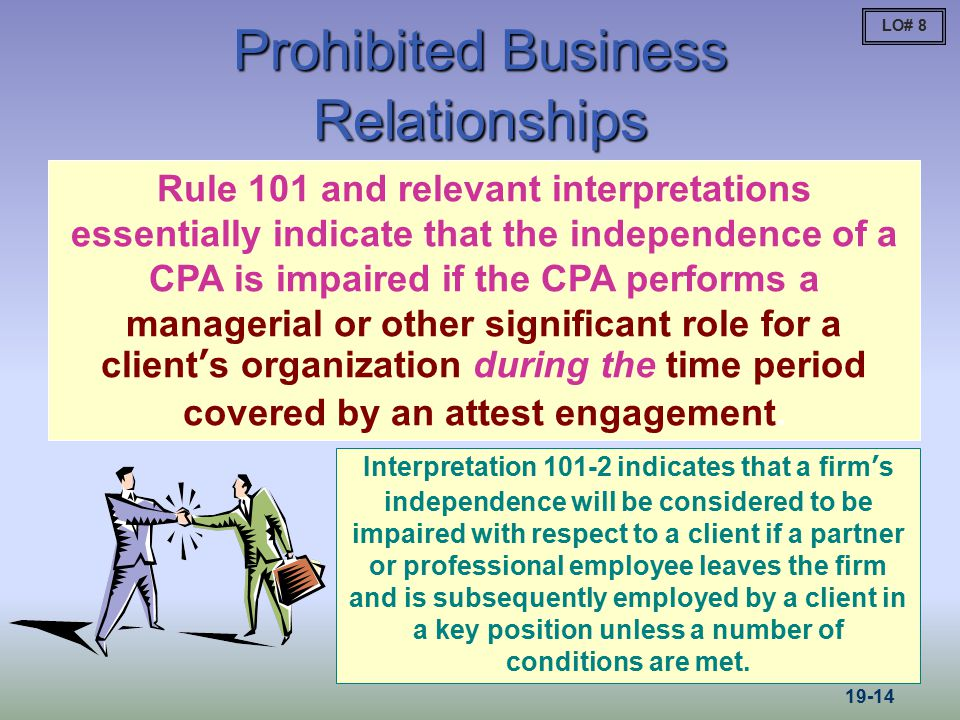Prohibited Business Relationships
