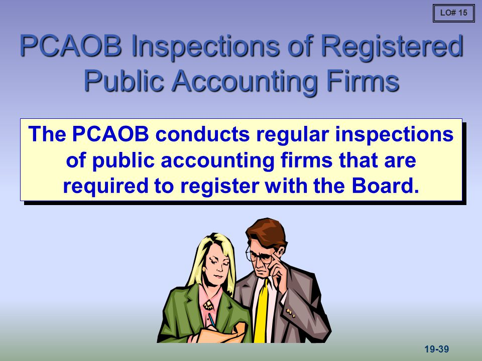 PCAOB Inspections of Registered Public Accounting Firms