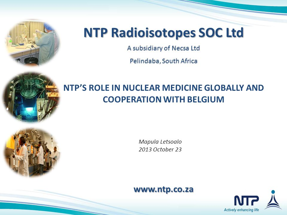 NTP Radioisotopes SOC Ltd