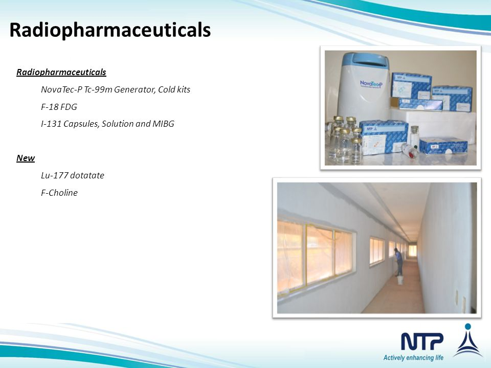 Nuclear Medical Isotopes & Related Products Radiopharmaceuticals