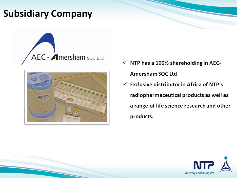 Subsidiary Companies Subsidiary Company