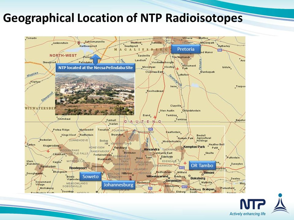 NTP located at the Necsa Pelindaba Site