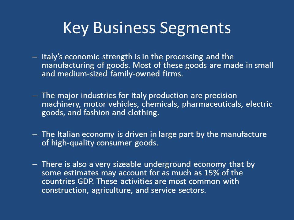 Key Business Segments