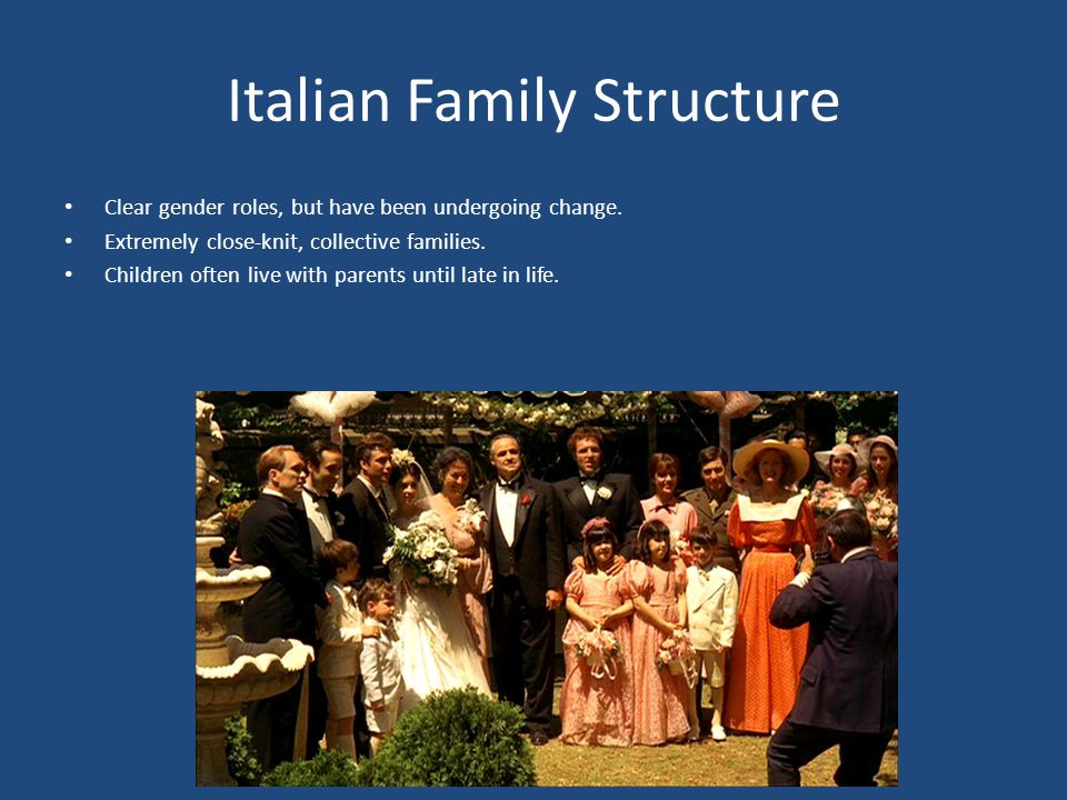 Italian Family Structure